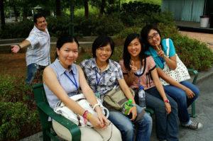 Leute in Taiwan