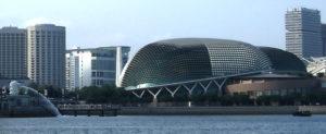 Esplanade Theater Singapur