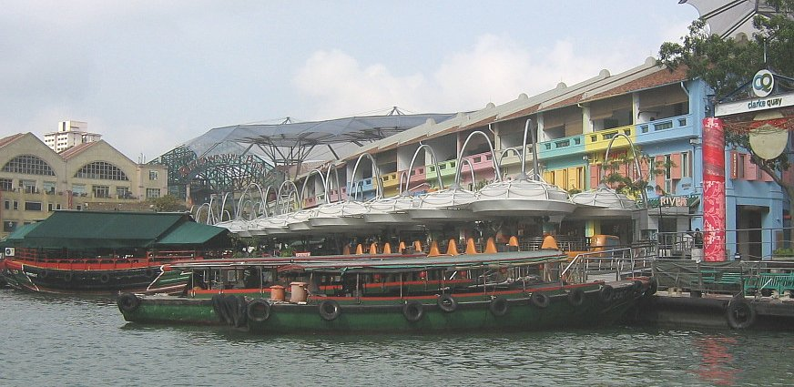 Hafenrundfahrt Singapore