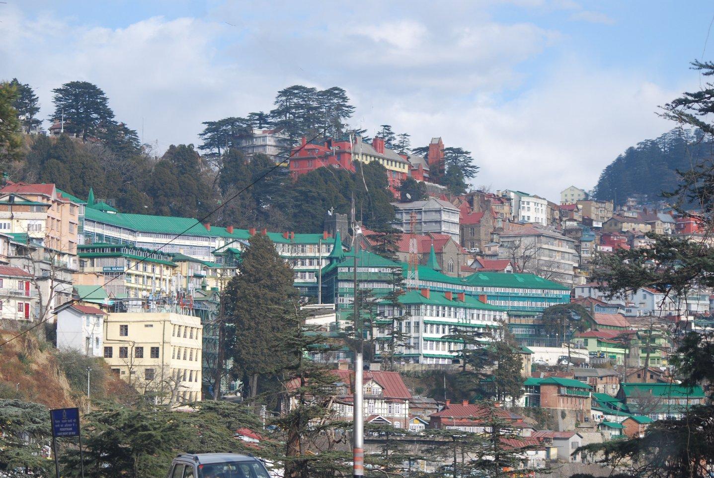Himalaya Gebäude