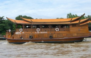 Mekong Kreuzfahrtschiff