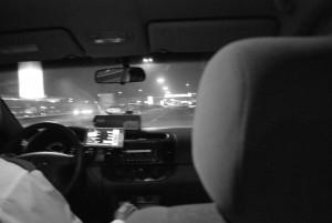 Taxifahrt in Thailand