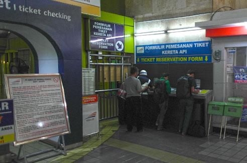 Jakarta Bahnhof Gambir