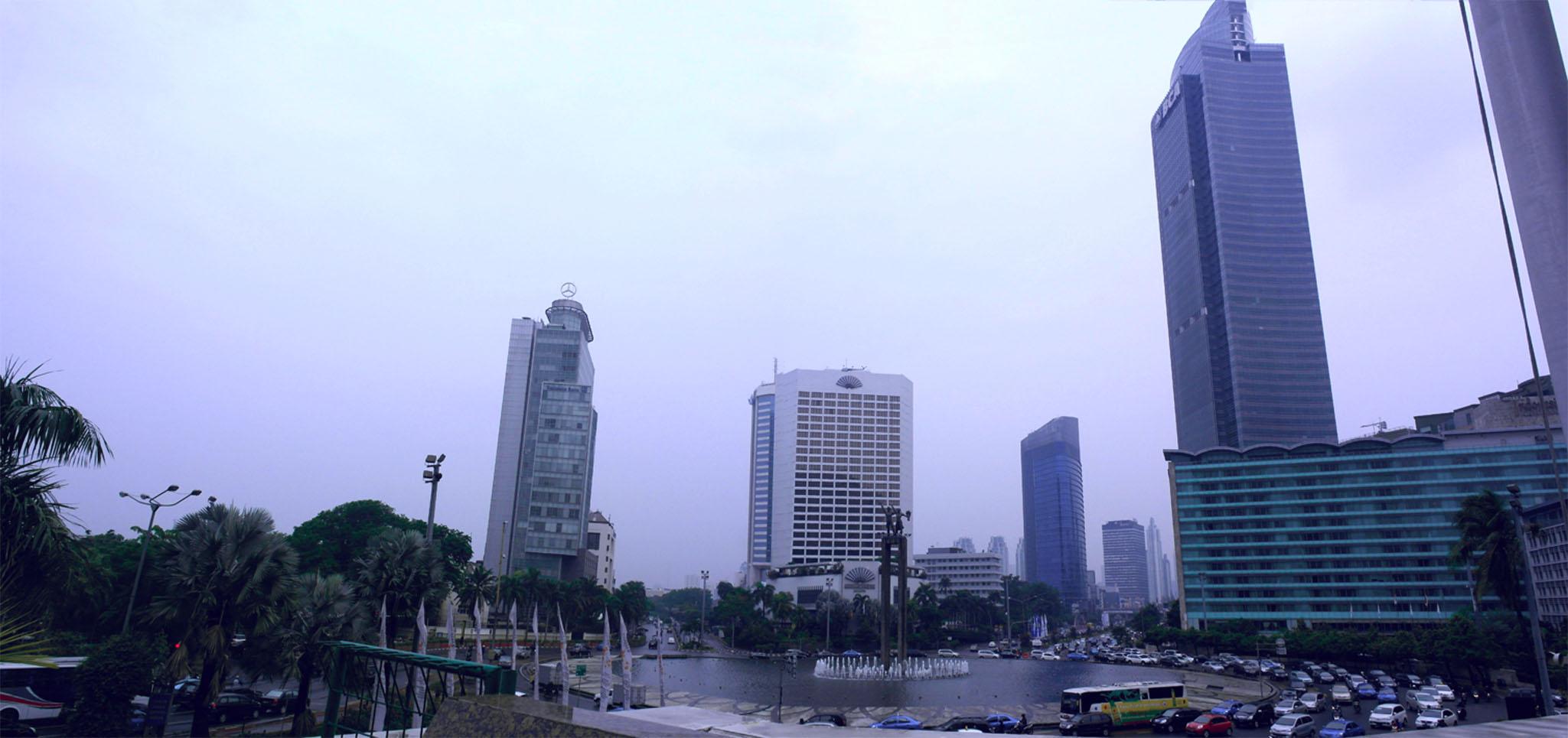 Panorama von Jakarta