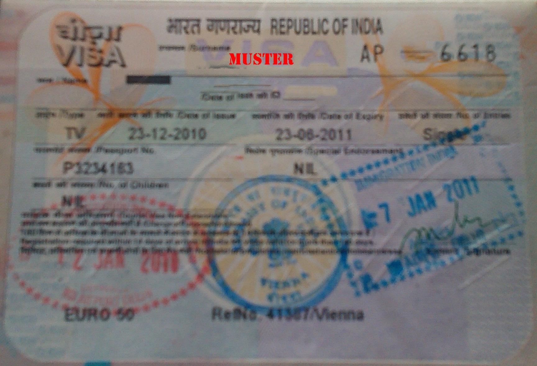 Visum für Indien wird einfacher