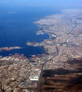 Istanbul Anflug