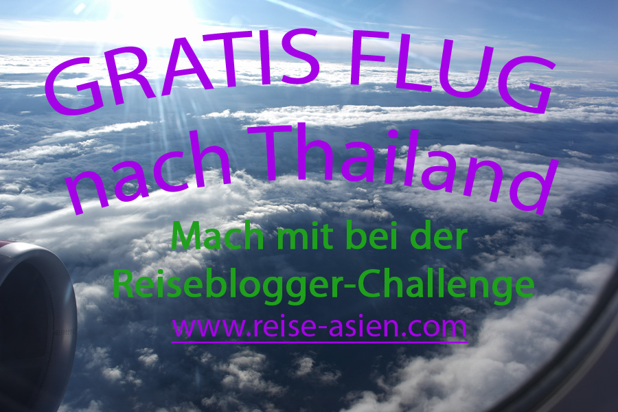 Blogger-Challenge für Reiseblogger
