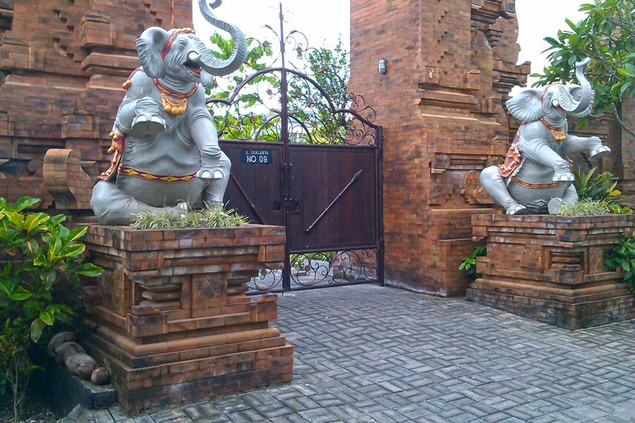 Elefanten in Myanmar
