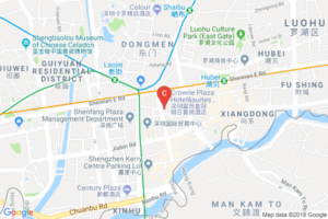Crownplaza Shezen Google Maps
