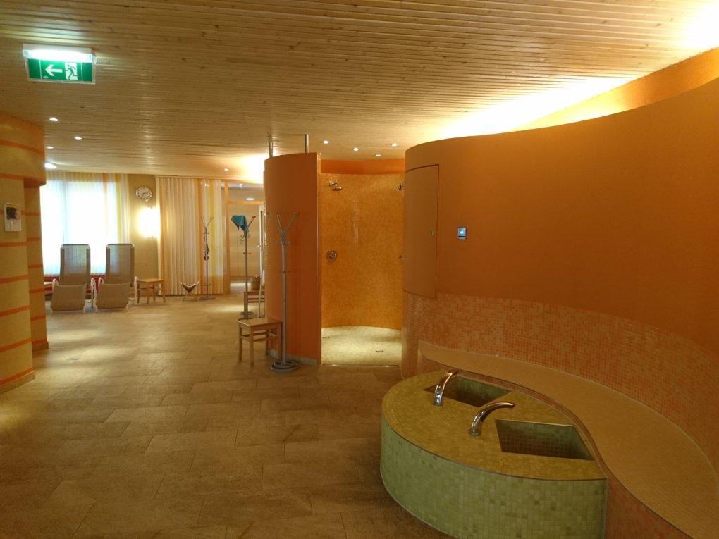Wellnessbereich im Hotel in SIngapur