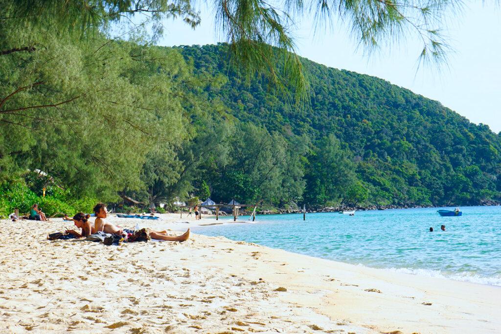 Strand in Thailand 2021